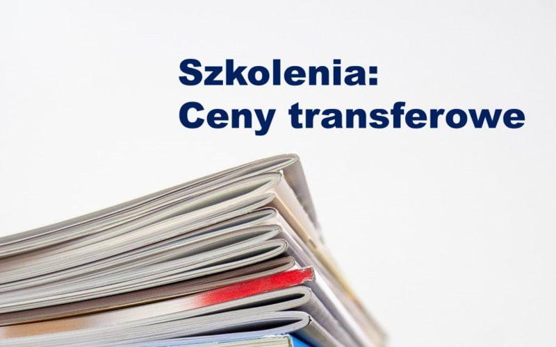 Ceny transferowe - szkolenie